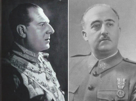 Don Juan y el dictador Francisco Franco